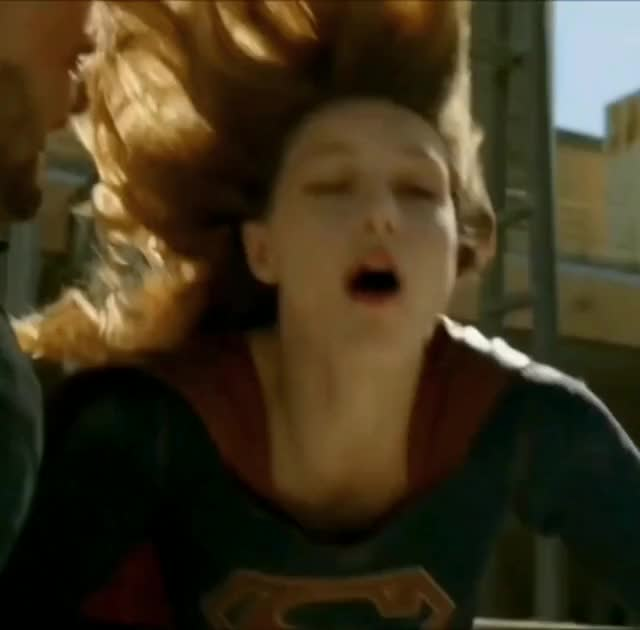 melissa Benoist's Supergirl needs to be choked and pounded hard and made into a super-slut