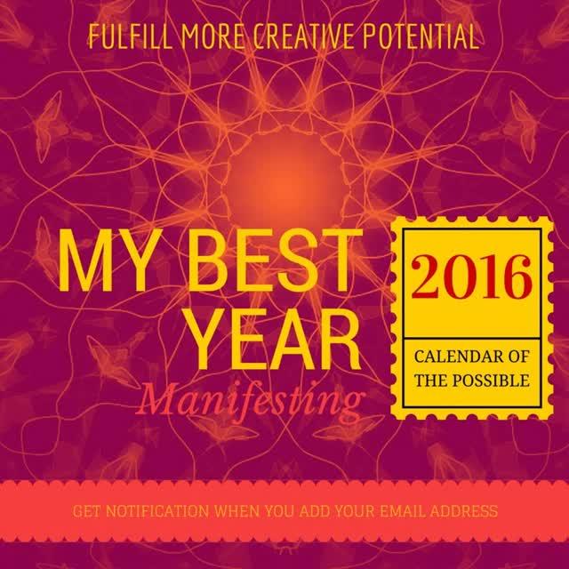 Watch and share Mandala Manifesting My Best Year GIFs on Gfycat