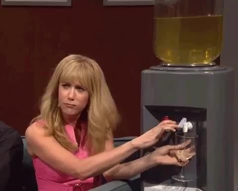 Watch and share Saturday Night Live GIFs and Kristen Wiig GIFs by Machette Machette on Gfycat