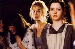 Watch and share Rosamund Pike GIFs and Talulah Riley GIFs on Gfycat
