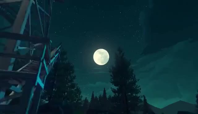 Watch and share The Beauty Of Firewatch GIFs on Gfycat