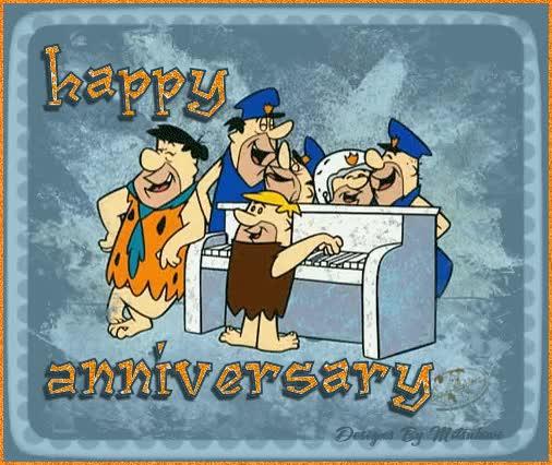 flintstones happy anniversary