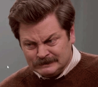 instant_regret, Ron Swanson wince GIFs