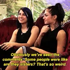 Watch Krewella GIF on Gfycat. Discover more interview, jahan yousaf, krewella, yasmine yousaf GIFs on Gfycat