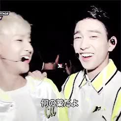 Watch and share Jinyoung GIFs and Bambam GIFs on Gfycat