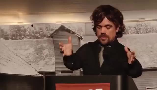 Watch this peter dinklage GIF on Gfycat. Discover more Peter Dinklage, peter dinklage GIFs on Gfycat