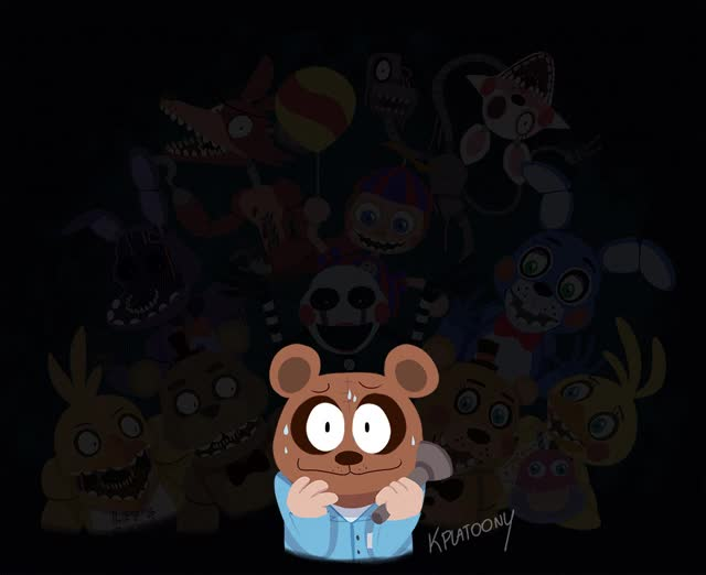 Watch and share Five Nights At Freddy S Foxy GIFs on Gfycat