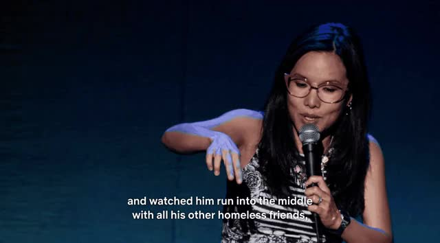Watch this ali wong GIF by @peachytango on Gfycat. Discover more ali wong, asian american, asian comedian, baby cobra, comedian, comedy, netflix, pregnant, pregnant comedian, special GIFs on Gfycat