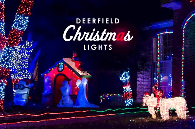 Watch Deerfield Christmas Lights Plano Magazine slider GIF on Gfycat. Discover more related GIFs on Gfycat