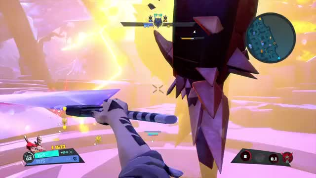 Watch and share Quick Melee GIFs and Battleborn GIFs by Old Man Cranky on Gfycat