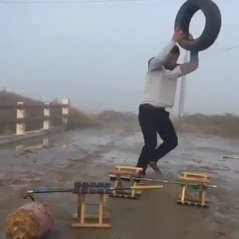 Crossfit in China GIFs