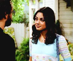 Watch and share That 70's Show Wallpaper Entitled Jackie Burkhart And Steven Hyde GIFs on Gfycat