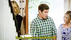Watch and share Andy And Haley GIFs and Claire Dunphy GIFs on Gfycat