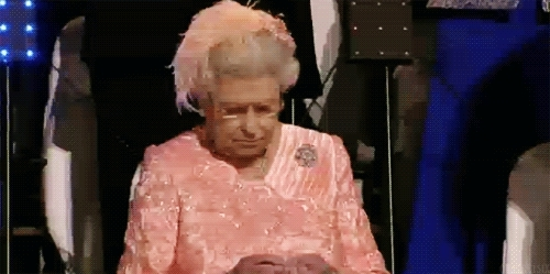 queen unimpressed GIFs