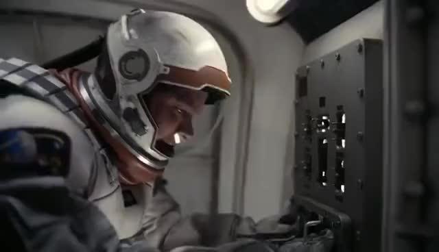 interstellar, Interstellar - Docking Scene 1080p IMAX HD GIFs