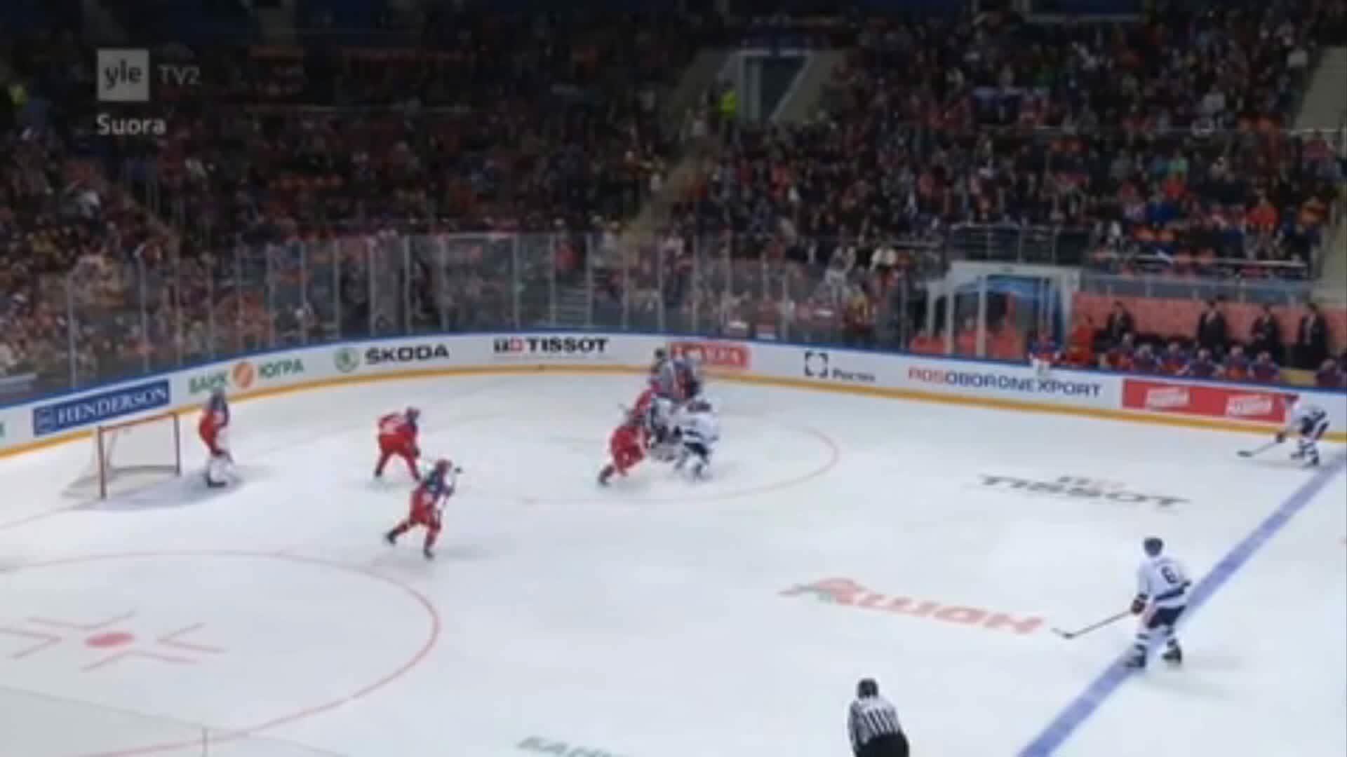 hockey, imagesofrussia, EHT Russia-Finland 1-1 Koskiranta GIFs
