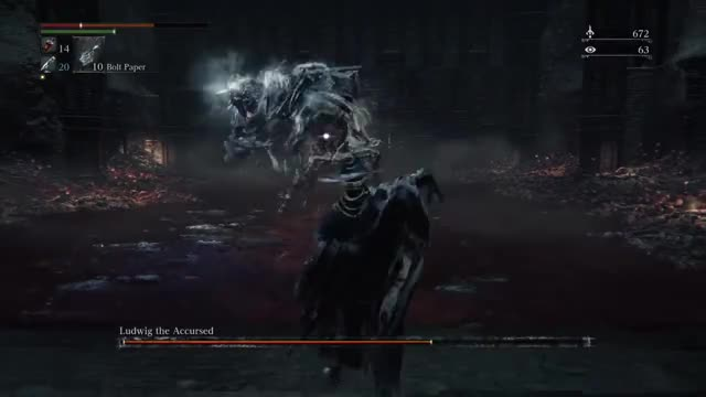 Ludwig, the Accursed/Holy Blade   -  Level 103 NG+