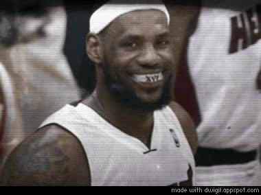 Watch and share Lebron James Deal With It GIFs by Reactions on Gfycat