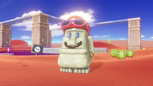 Watch and share Super Mario Odyssey GIFs and Nintendo E3 Mario GIFs by Mr. Panda on Gfycat