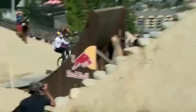 Watch and share HEAVY Slopestyle Mountain Biking From Red Bull Joyride 2016 GIFs on Gfycat