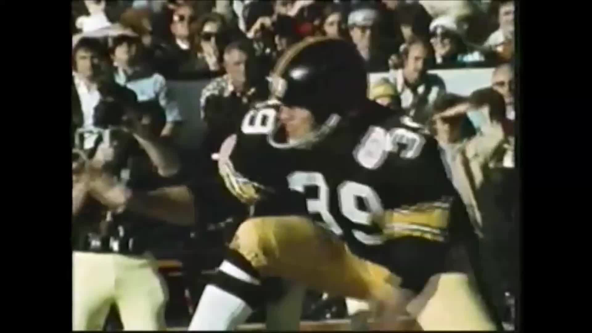 Cowboys' player mocks Steelers' kicker after missing important FG, Jack Lambert is having none of it... GIFs
