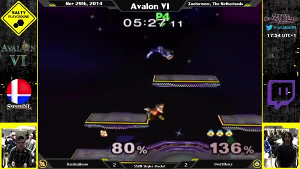 Watch and share Avalon VI - DancingQueen (Fox) Vs. Overtriforce (Sheik) - SSBM Singles Winners Quarter Final (reddit) GIFs on Gfycat
