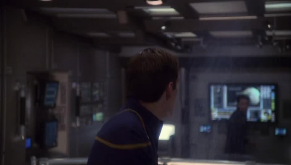 Archer, Captain Archer, ENT, Enterprise, Jonathan Archer, Scott Bakula, Star Trek, Star Trek: Enterprise, MRW my barber screws up GIFs