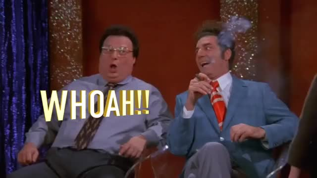 Watch and share Michael Richards GIFs and Jerry Seinfeld GIFs on Gfycat