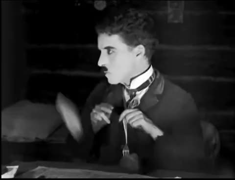 Watch Charlie Chaplin - The Gold Rush - Roll Dance GIF on Gfycat. Discover more related GIFs on Gfycat