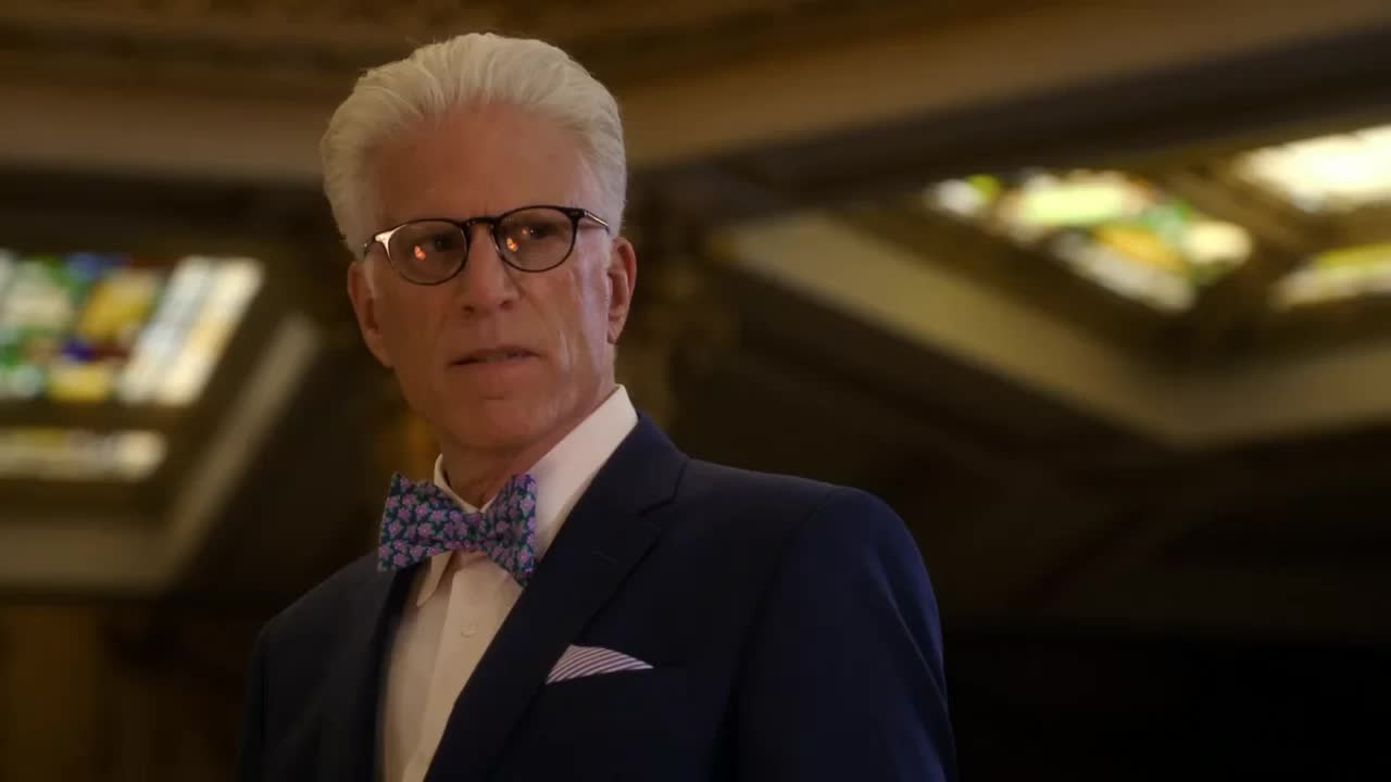 ted danson, the good place, wtf, what the fork is happening GIFs