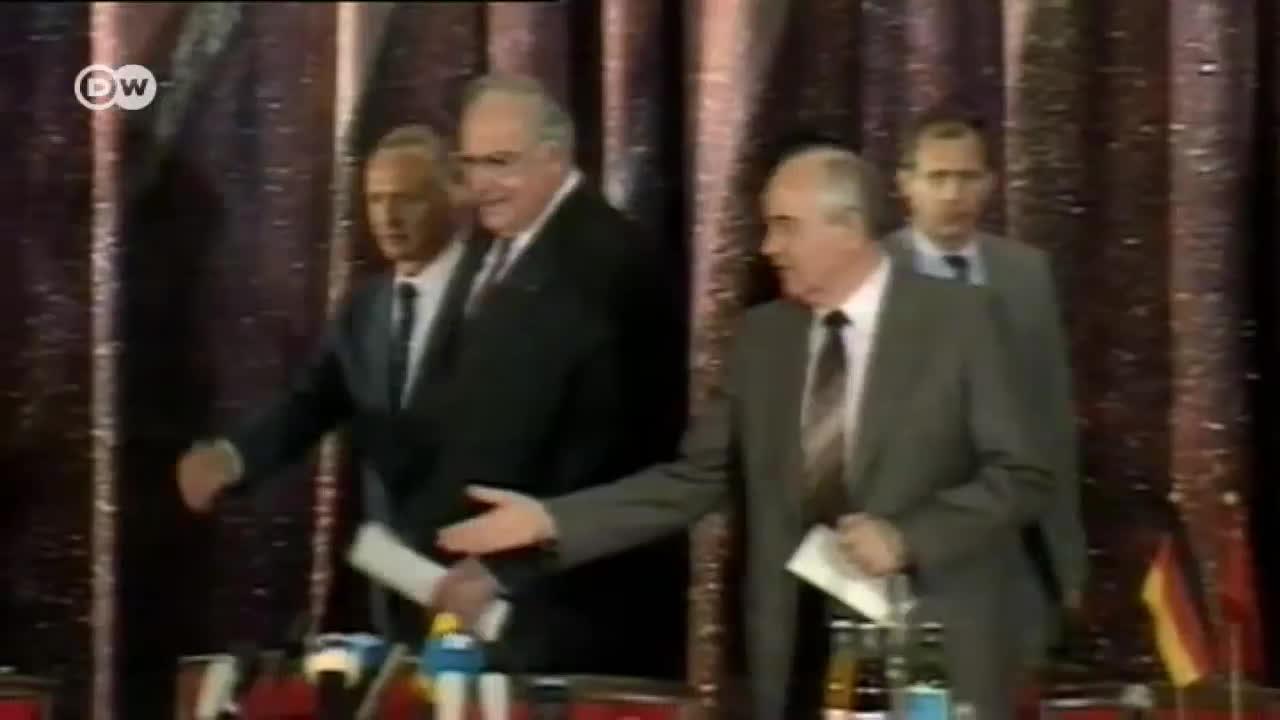 LeftHanging, lefthanging, Helmut Kohl and Mikhail Gorbachev GIFs