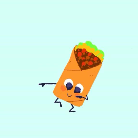 Watch and share Burrito GIFs on Gfycat