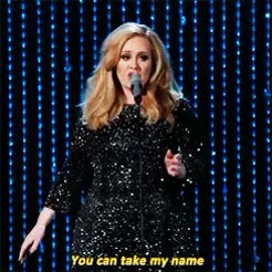 Watch Adele Source GIF on Gfycat. Discover more Adele, Adele Adkins, adele edit, award shows, by megan, gif, i just really like this bit of the lyrics GIFs on Gfycat