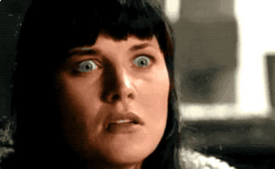 god, mouth, my, no, oh, omg, open, seriously, surprise, unbelievable, way, wow, xena, Xena - OMG GIFs