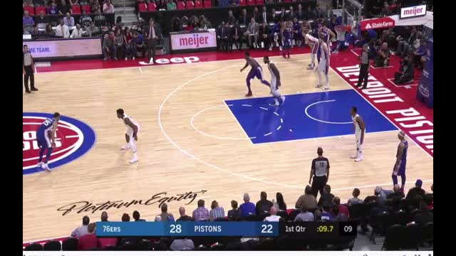 Watch and share Simmons Embiid Three.mp4 GIFs on Gfycat