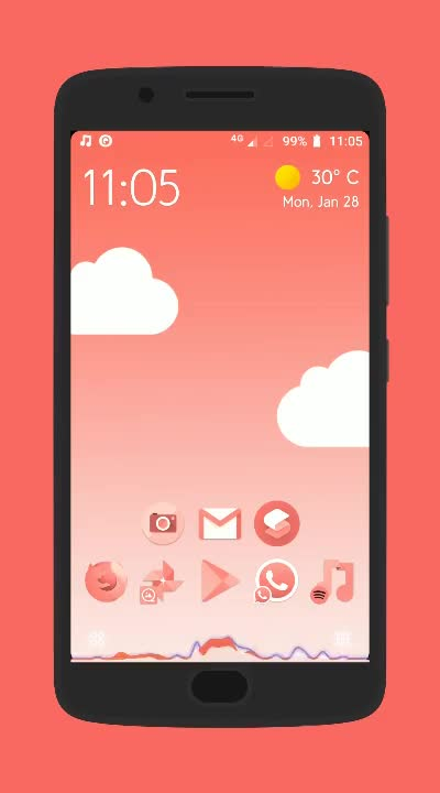 Watch and share Wallpaper GIFs and Iconpack GIFs by 1rdc on Gfycat