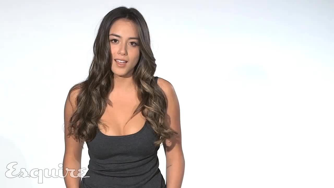 Celebs, Chloe Bennet, ChloeBennet, Chloe Bennet - 60fps - made by imjustadude90 GIFs