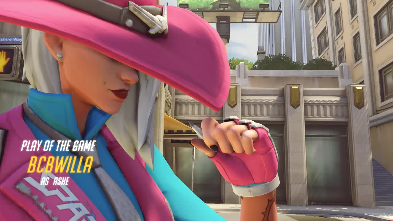 flick, overwatch, potg, ashe_2 GIFs