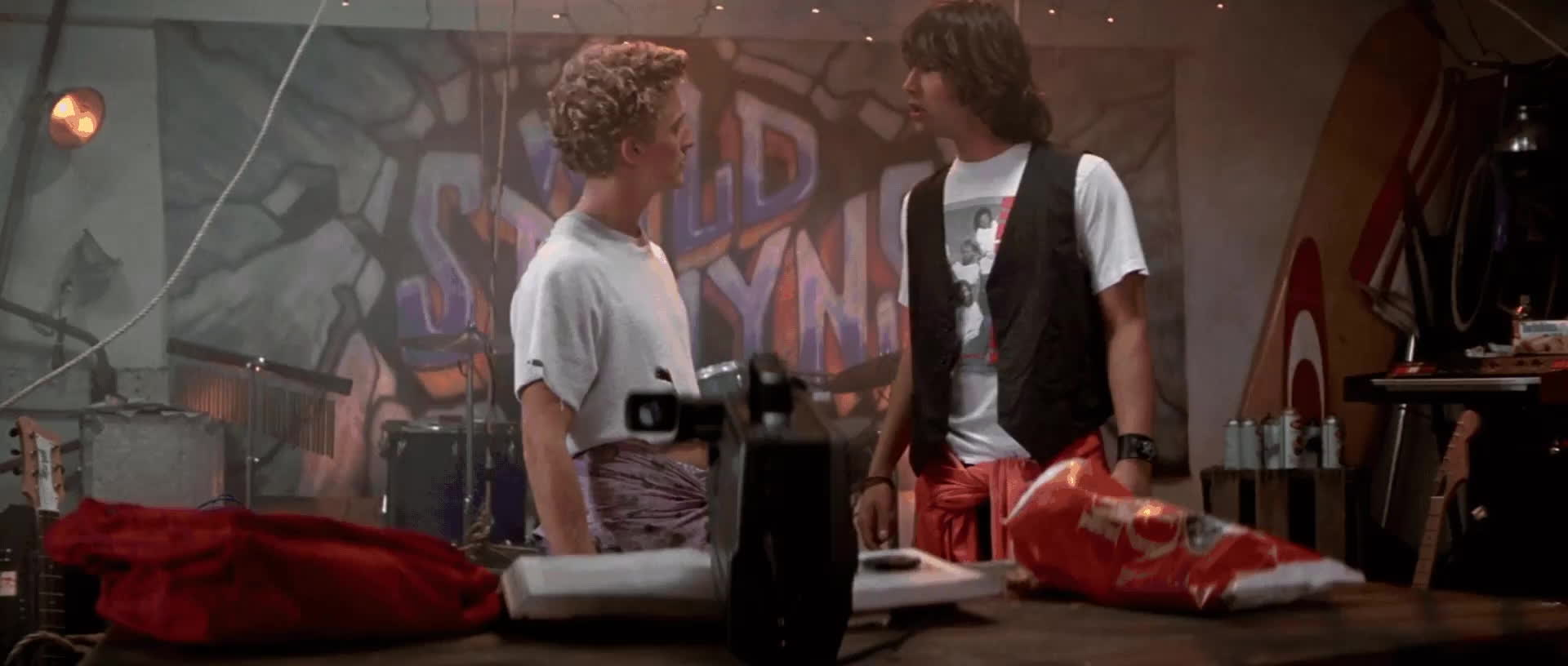 EXCELLENT, Guitar, KeanuReeves, EXCELLENT! [Bill & Ted's Excellent Adventure] Keanu Reeves GIFs