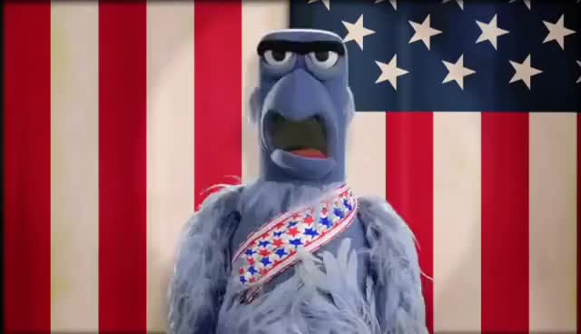 Watch and share Sam The Eagle GIFs and America GIFs on Gfycat