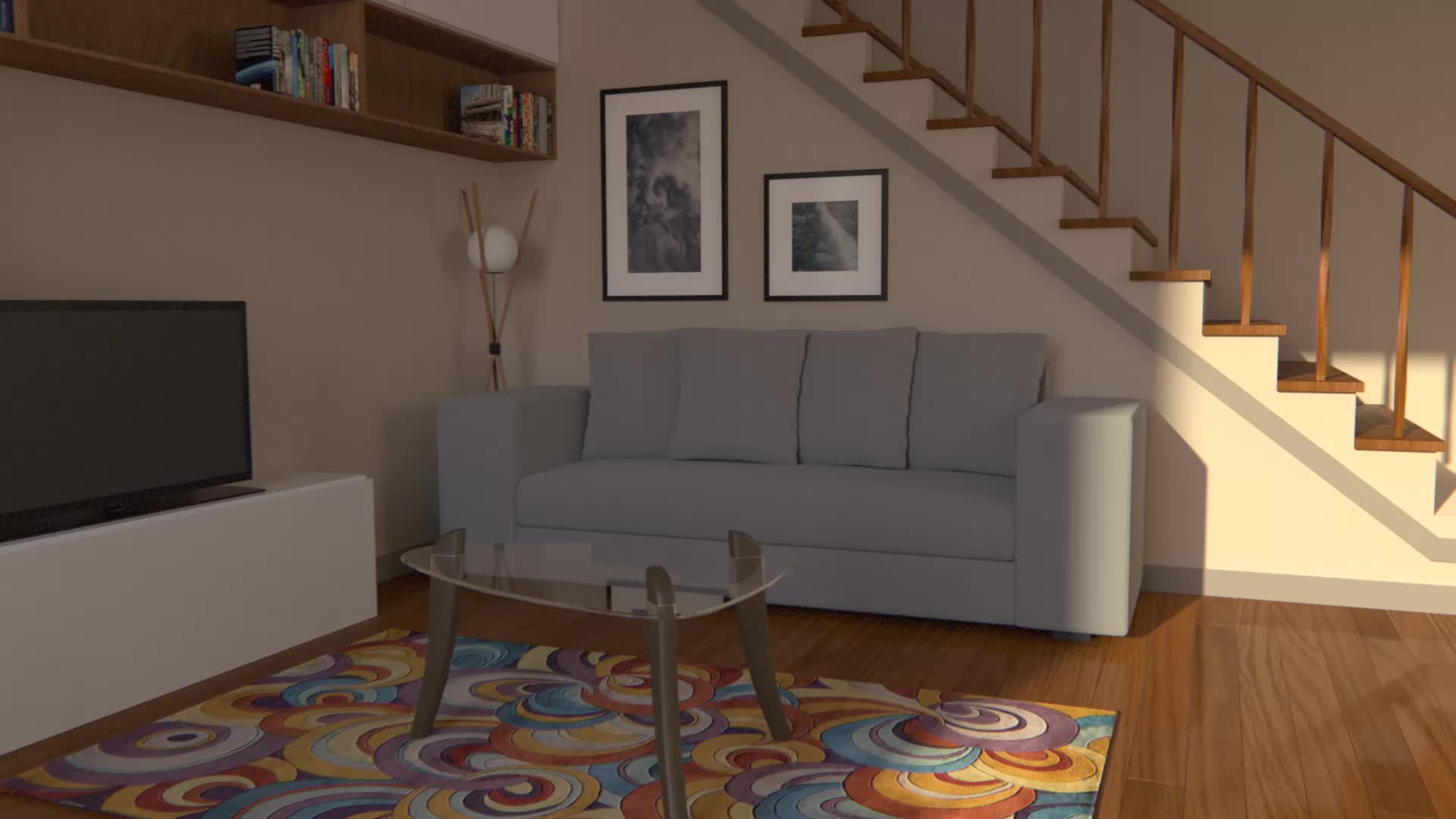 3d, animation, archvis, cg, loop, mash, maya, minneapolis, redshift, simulation, New Apt GIFs