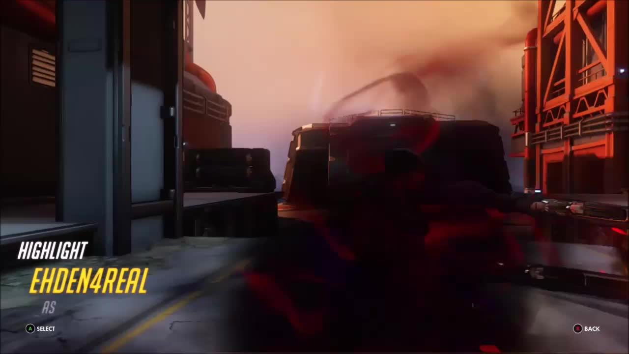 overwatch, reaper, ultimategif, ultimategifs, Reaper Gone Reap! GIFs