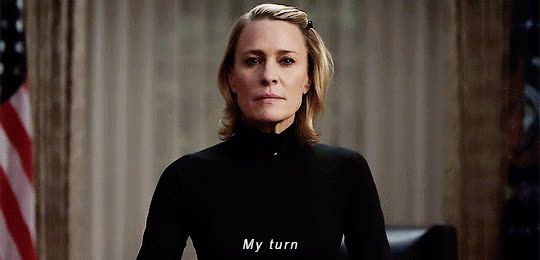 house of cards, robin wright,  GIFs