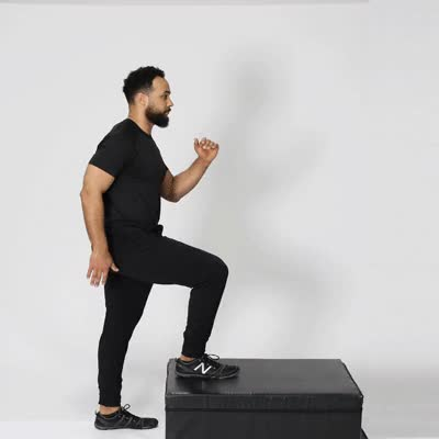 Watch and share 400x400-Step-Ups GIFs by Healthline on Gfycat