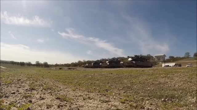 Watch and share HD POV Footage Of M1A1 Abrams Tanks Firing GIFs by AUSCOMBAT on Gfycat