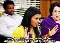 Watch and share Darryl Philbin GIFs and Kelly Kapoor GIFs on Gfycat