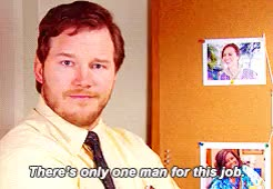 Watch and share Burt Macklin GIFs and Chris Pratt GIFs on Gfycat