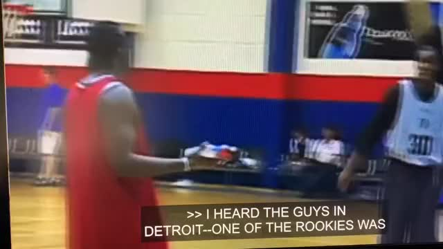 Watch and share Deron Williams Talks About A Story He Heard About The Pistons And Some Rookie Duties In 2008 GIFs on Gfycat