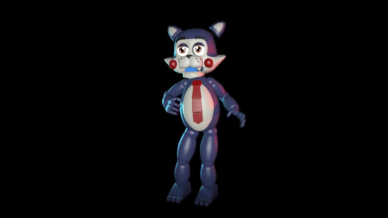 ▷ FNaF World Withered Freddy Remake GIF by gojizilla - Find
