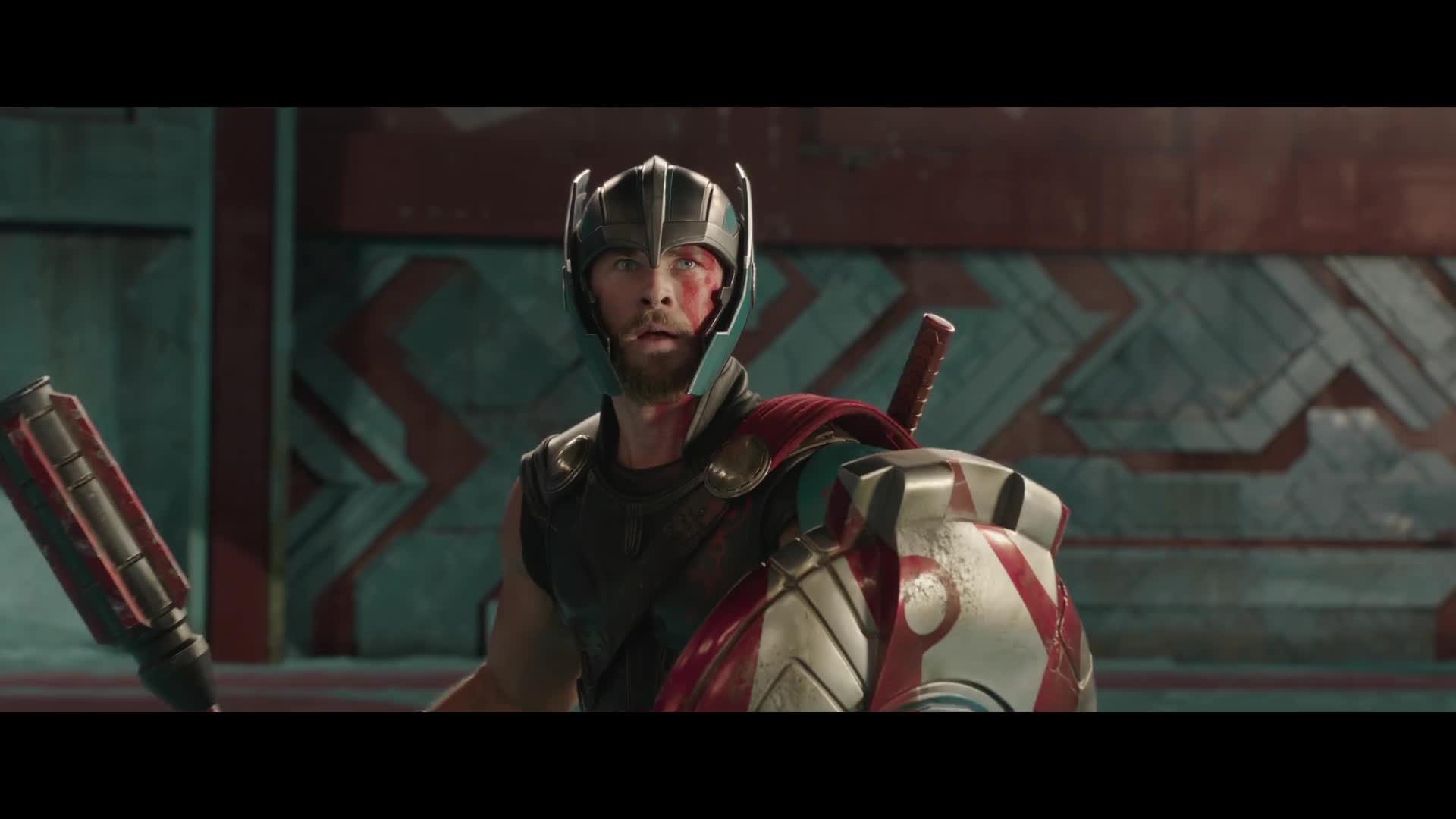 comicbooks, comics, marvelstudios, Thor: Ragnarok Teaser Trailer [HD] GIFs